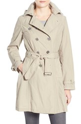 Women's Jane Post Crinkle Trench Coat