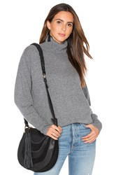 Demy Lee Isla Turtleneck Sweater Gray