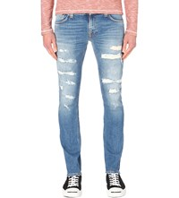 Nudie Jeans Long John Ben Replica Skinny Fit Straight Jeans
