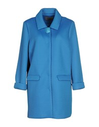 Darling Coats And Jackets Full Length Jackets Women Azure