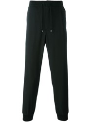 Mcq By Alexander Mcqueen Front Pleat Track Pants Black
