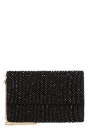 Reiss Minty Clutch Black