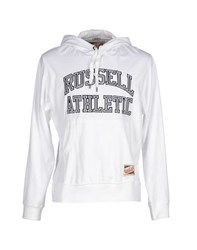 Russell Athletic Topwear Sweatshirts Men White
