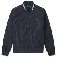 Fred Perry Twin Tipped Bomber Jacket Blue