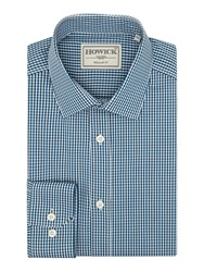 Howick Farnell Small Gingham Shirt Forest