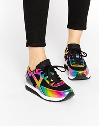 Y R U Yru Flash Trainers Blkmulti