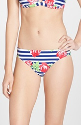 Betsey Johnson 'Rose Gingham' Hipster Bikini Bottoms
