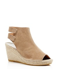 Bettye Muller Download Peep Toe Espadrille Wedges