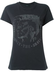 Diesel 'T Sully Ad' T Shirt Black