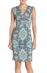 Women's Kut From The Kloth Print Jersey Sheath Dress