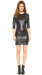 Bb Dakota Villette Sequin Dress Oil Slick