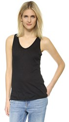David Lerner Muscle Tank Classic Black
