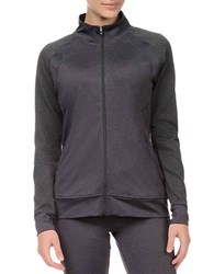 Danskin Zip Up Sweatshirt Dark Charcoal
