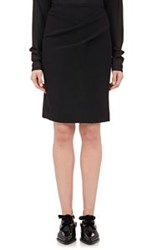 Lanvin Women's Draped Pencil Skirt Black