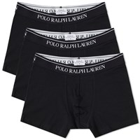 Polo Ralph Lauren Cotton Trunk 3 Pack Black
