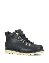 Marc New York Snowcap Leather Lug Sole Boots