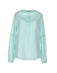 Antik Batik Shirts Blouses Women Light Green