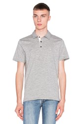 Rag And Bone Standard Issue Polo Gray