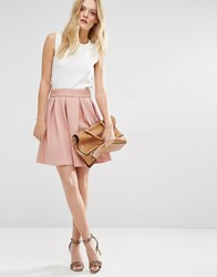 Y.A.S Structured Skater Skirt Rose Dawn