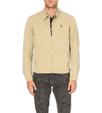 Polo Ralph Lauren Zip Up Cotton Harrington Jacket Desert Tan