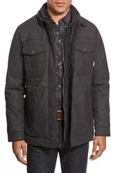 Men's Jeremiah 'Ryder' Waxed Canvas Jacket