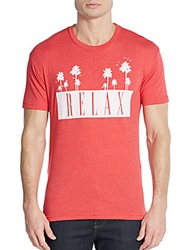 Kinetix Relax Graphic Tee Red