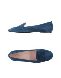 Pretty Loafers Moccasins Deep Jade