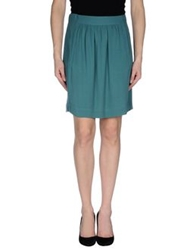 Stella Forest Knee Length Skirts Emerald Green