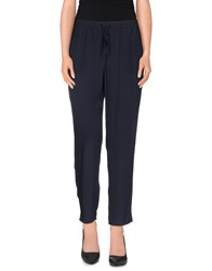 Armani Jeans Trousers Casual Trousers Women Dark Blue