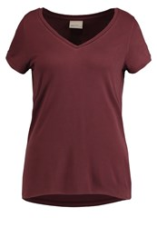 Vero Moda Vmsahana Basic Tshirt Decadent Chocolate Brown