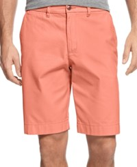 Tommy Hilfiger Men's Core Classic Fit Chino Shorts Spiced Coral