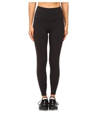 Kate Spade New York X Beyond Yoga High Waist Back Bow Capri Leggings Black Women's Casual Pants