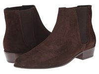 The Kooples Split Leather Chelsea Boot Brown Men's Boots