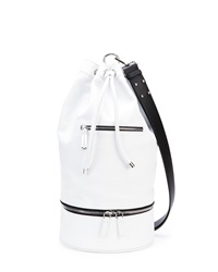 Cnc Costume National Secchiello Sport Shoulder Bag White Costume National