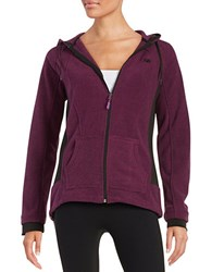 New Balance Striped Fleece Hoodie