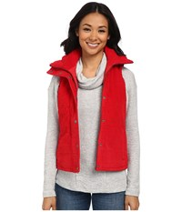 Mod O Doc Quilted Vest Ruby Women's Vest Red