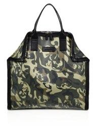 Alexander Mcqueen De Manta Large Cotton And Linen Tote
