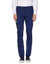 M.Grifoni Denim Trousers Casual Trousers Men Bright Blue