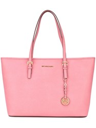 Michael Michael Kors 'Jet Set Travel' Tote Pink And Purple