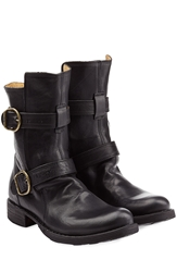 Fiorentini And Baker Calf Length Buckle Boots