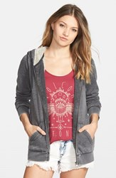 Junior Women's Volcom 'Lived In' Lined Zip Hoodie