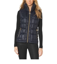 Michael Kors Quilted Puffer Vest Navy