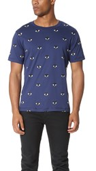 Kenzo Allover Eye Print Tee Ink