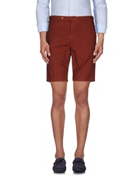 Rotasport Trousers Bermuda Shorts Men Brown