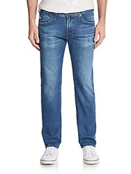 Ag Adriano Goldschmied Matchbox Faded Slim Leg Jeans Blue