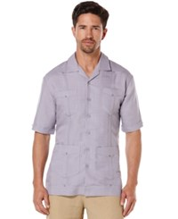 Cubavera Shirt Short Sleeved Guayabera Shirt Lavender