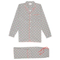 Kloters Milano Flower Pyjamas White Red Blue