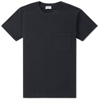 Saint Laurent Ysl Pocket Tee Black