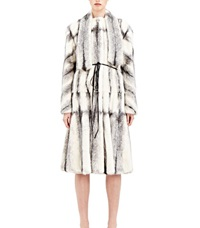 Lanvin Mink Fur Coat Grey