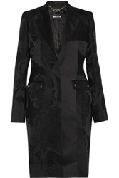 Just Cavalli Jacquard Coat Black